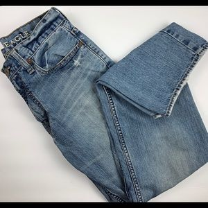 American Eagle Distressed Low Loose Jeans 29/32